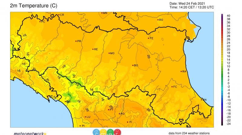 Meteo: nuovo picco di calore nel fine settimana